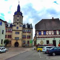 Wettin, Marktplatz